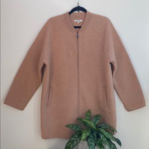 Madewell Bomber Sweater Jacket